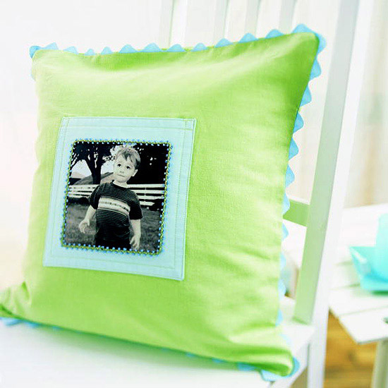 Comfort and Joy pillow frame