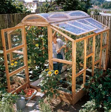 Gardening in Greenhouse