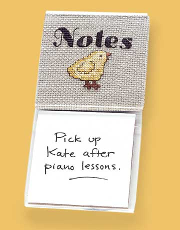 chick notepad holder