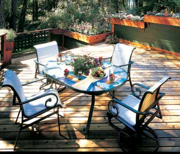 Deck with Rails