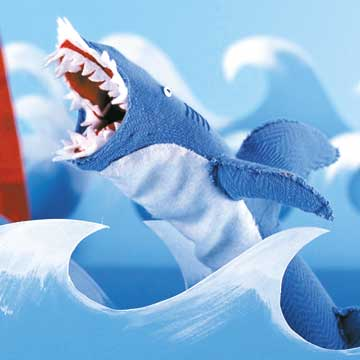 Shark Attack Puppet