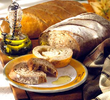 Bread with Dipping Oil