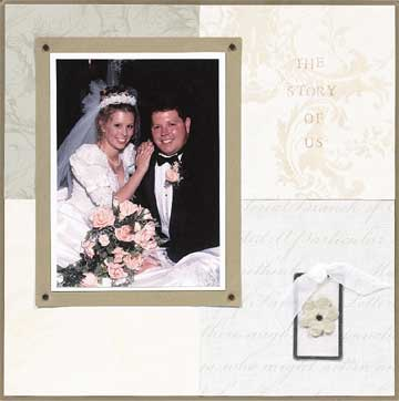 The Story of Us Wedding Scrapbook