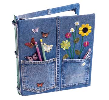 In-jean-ious 3 Ring Binder