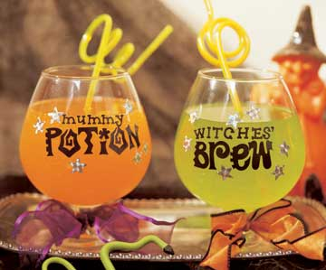 potion and brew glasses