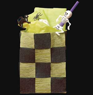 Checkerboard Treat Bag
