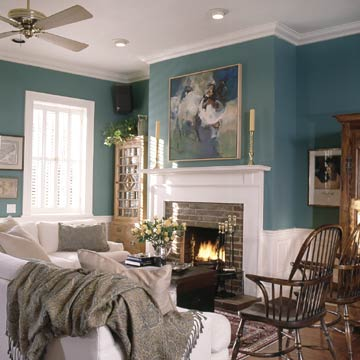 Selecting Ceiling Color Better Homes Gardens