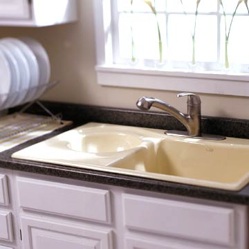 Sink after remodeled