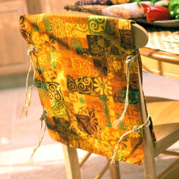 Kwanzaa Chair Slipcovers