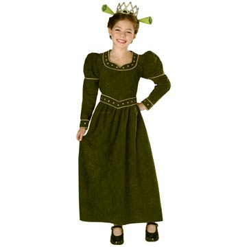 Shrek Princess Kids Costume
