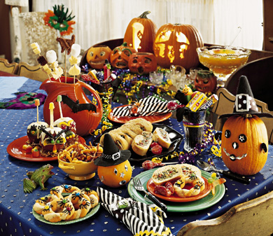 Halloween Party Feast