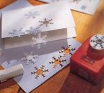 snowflake thank-you card -- how-to