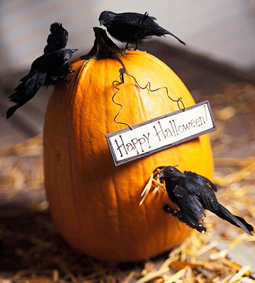 The Crow's Hideout Pumpkin