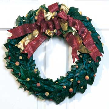 solid wreath