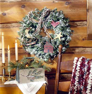Cabin Wreath