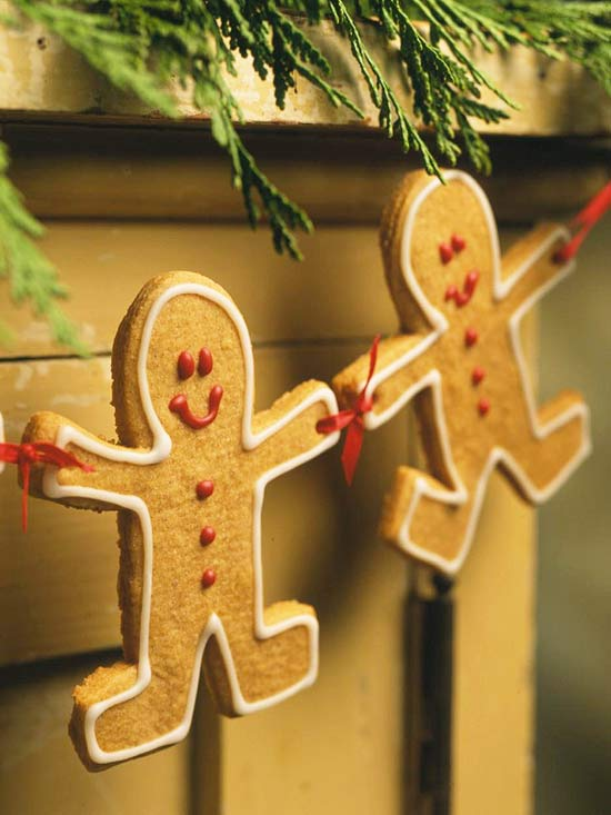 Gingerbread-friends Garland