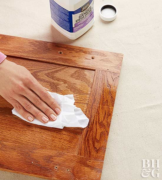diy spray paint kitchen cabinets