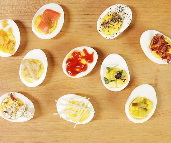 10 Can't-Mess-up Deviled Egg Toppers