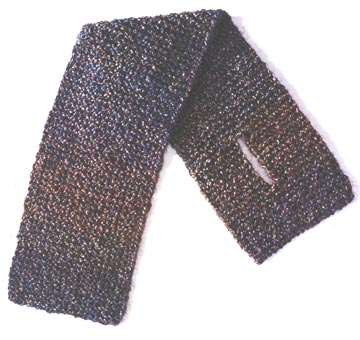 Scarf with Slit