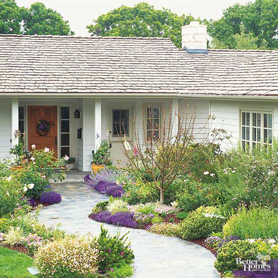 Various Front Yard Ideas For Beginners Who Want To: Planning Your Front-Yard Landscape