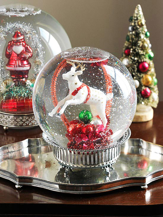 Do it yourself snow globe better homes gardens how to make it solutioingenieria Choice Image