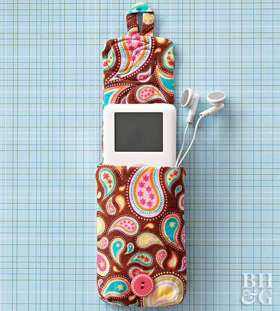 ipod holder paisley
