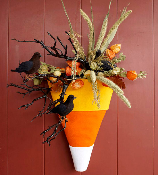 Candy Corn Cone Decoration