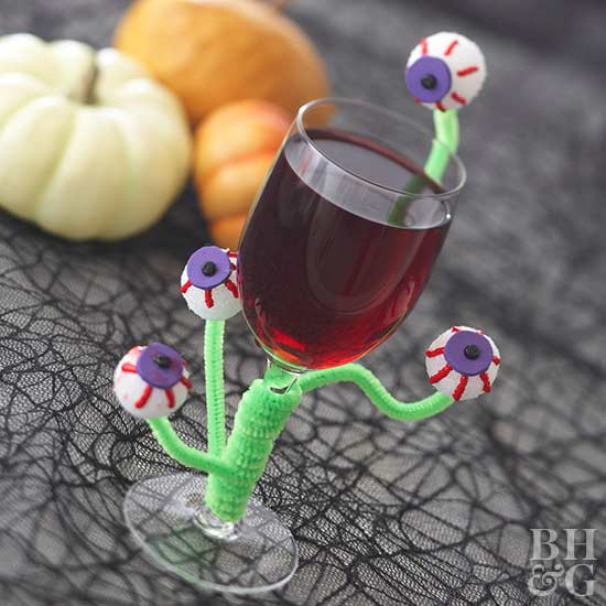 eye balls wine glass