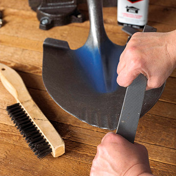 How to Sharpen Shovel
