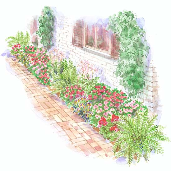 Bright Foundation Garden Plan