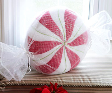 Peppermint pillow