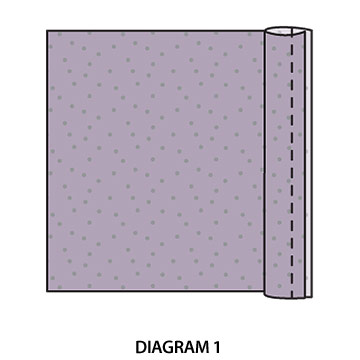 diagram for pillow