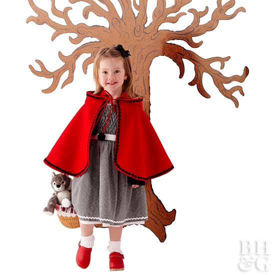 little red riding hood, kids, children, trick-or-treat