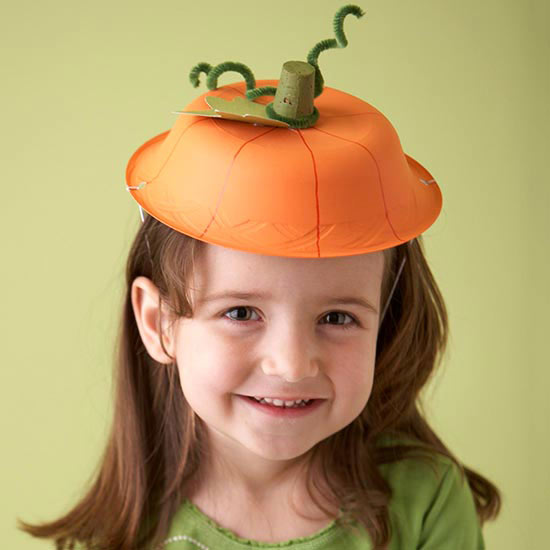 Halloween Pumpkin Hat,