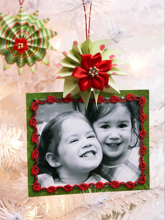 Picture Frame Christmas Ornament