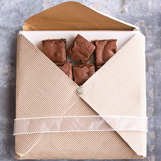 Envelope-Enclosed Platter for Brownies & Cookies