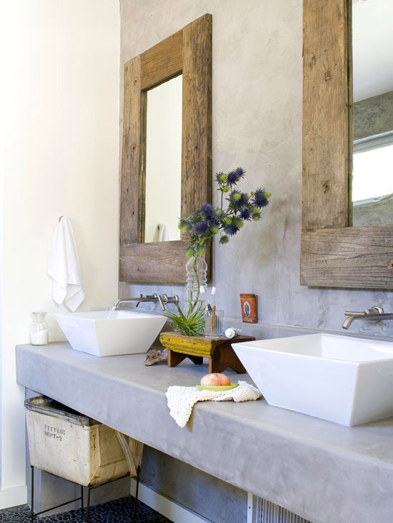 Modern Bathroom Mirror Frames. Two Wood Frame Mirrors Modern Bathroom  Mirror Frames Better Homes And