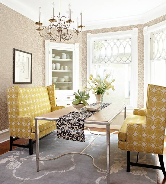 Dining room wall decor better homes gardens for Better homes and gardens dining room ideas