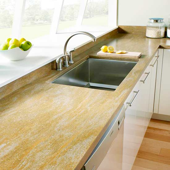 Manufactured Stone Countertops : Quartz kitchen countertop buying guide better homes