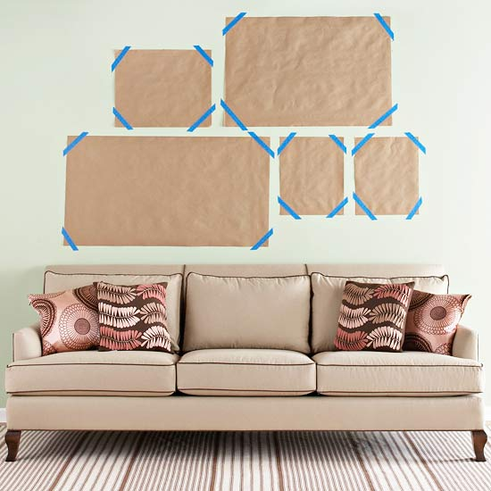 Wall art template