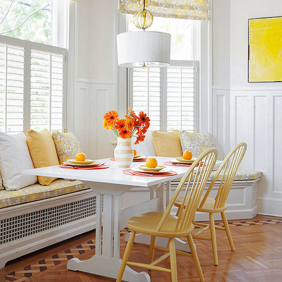 Kitchen Peninsula Banquette: Better Homes & Gardens