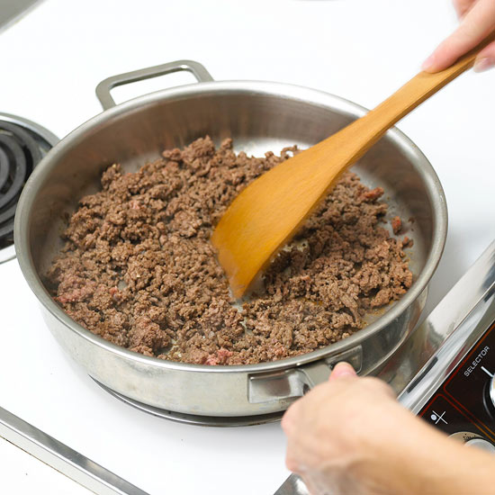 Fully Cooking Ground Beef