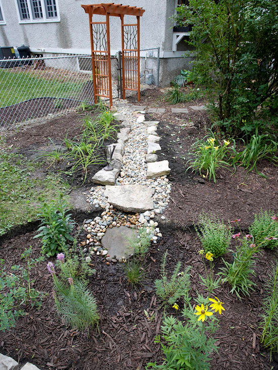 6 Easy Steps To Make A Rain Garden Better Homes Amp Gardens