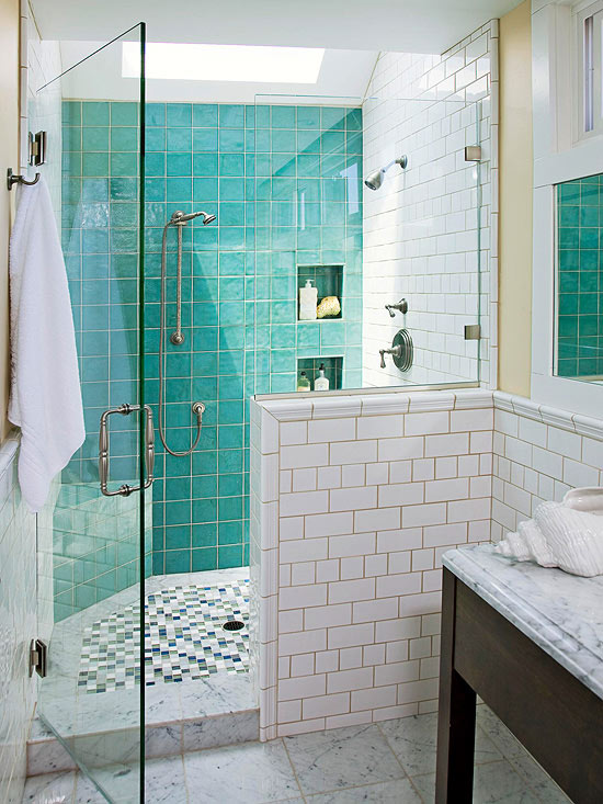 Bathroom Shower. If Your Ideas Of Bathroom Tile ...