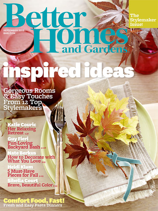 BHG stylemaker Issue Sept