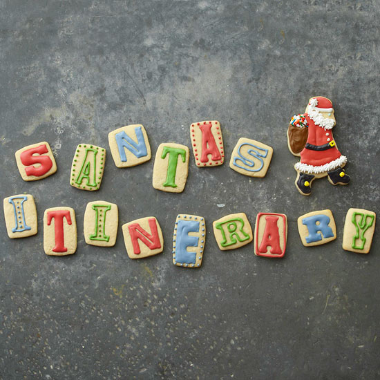 Message from Santa Sugar Cookies
