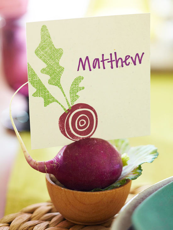 Harvest Place Card
