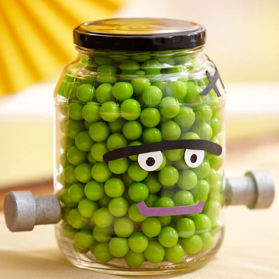 Monster Face Candy Jar