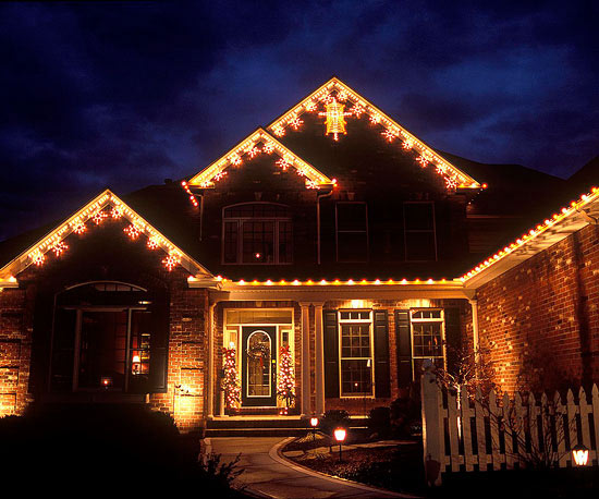 One-Time Use Holiday Lighting