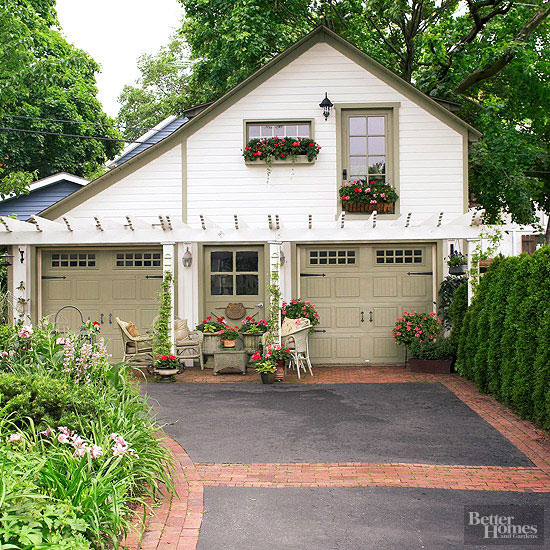 Home Driveway Design Ideas: Better Homes & Gardens